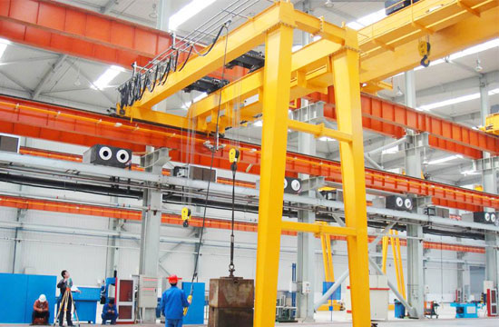 Semi Gantry Crane for Workshop