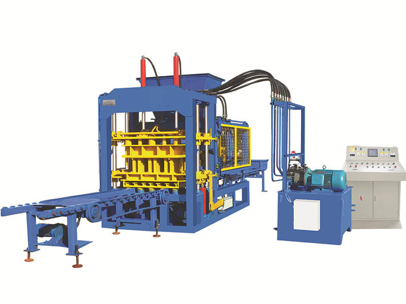 QT6-15B fully automatic fly ash brick making machine