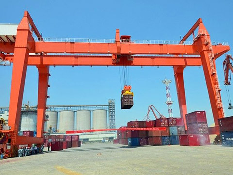 50 ton double girder gantry crane sales