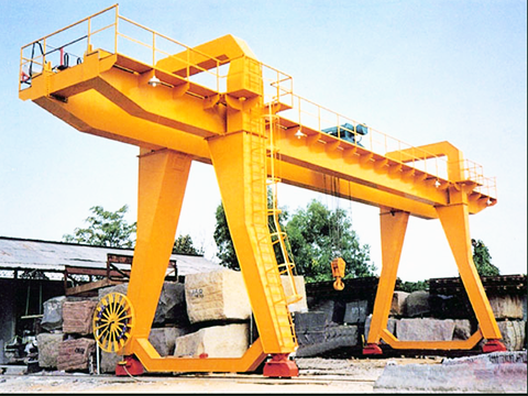 excellent 50 ton gantry crane of Weihua sales
