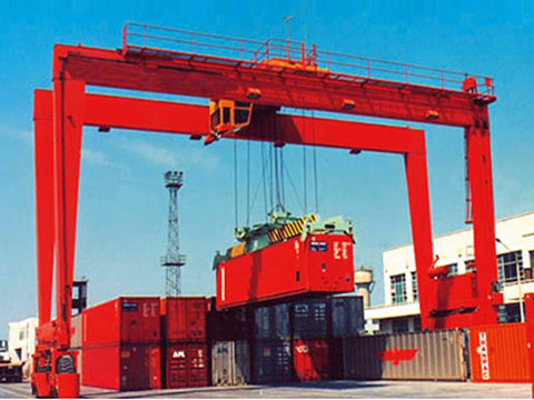 rubber tyred gantry crane (rtg crane) supplier