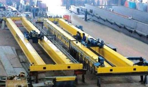 Weihua Overhead Crane Yellow